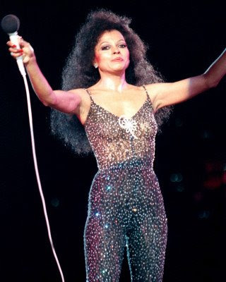 Diana Ross on her 65th birthday