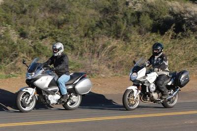 MondayMotoMadness: 2010 Honda NT700V vs. Aprilia Mana 850 GT ABS