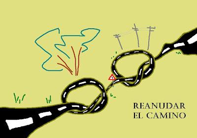 Poesia visual: Reanudar el camino