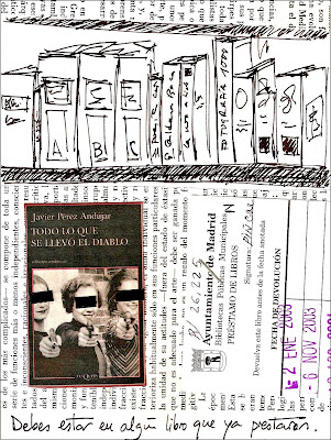 Collage: Debes estar en algún libro que ya prestaron
