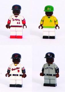 Reggie Jackson minifigure
