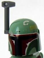 New Boba Fett Minifigure Helmet