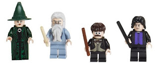 LEGO Harry Potter Minifigures Hogwarts Professors