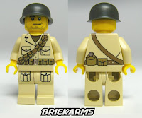 BrickArms WWII Custom Soldier