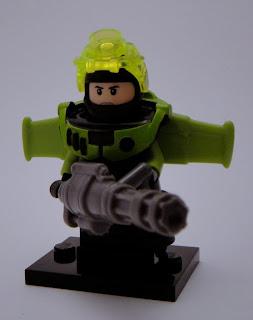 eclipseGrafx Blacktron III Heavy Weapon Specialist