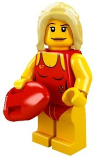LEGO Collectible Minifigure Series 2 The Lifeguard