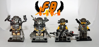 Family Bricks Custom Predator Minifigures