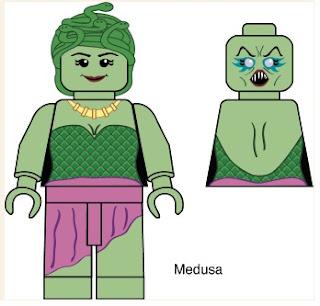 Def's Medusa Minifigure Design