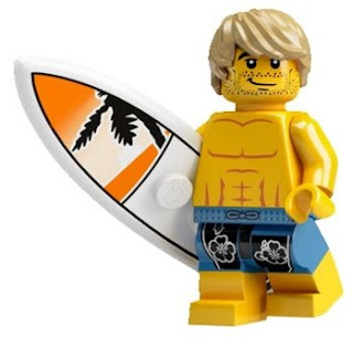 LEGO Collectible Minifigure Series 2 The Surfer Dude
