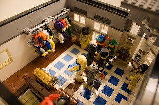 Brent Waller's Costume Corner with LEGO Collectible Minifigures
