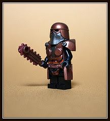 Geoshift's Rust Guardian Minifigure