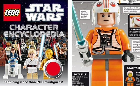 There are quite a few sticker books for LEGO Star Wars, but the one that