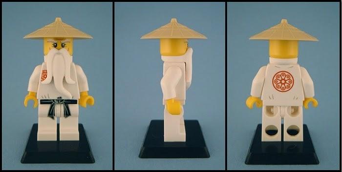 The ugly duckling lego ninjago minifigures sensei wu - Ninjago sensei wu ...