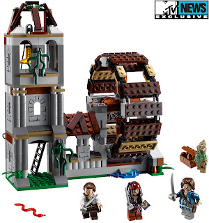 The Ugly Duckling: LEGO Pirates of the Caribbean - The Mill