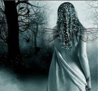 anjo,dark,inverno,floresta