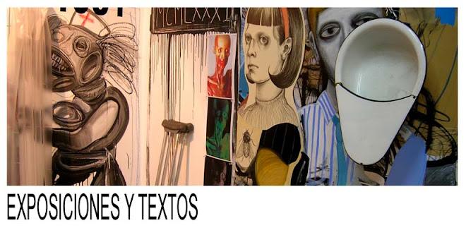 exposiciones y textos