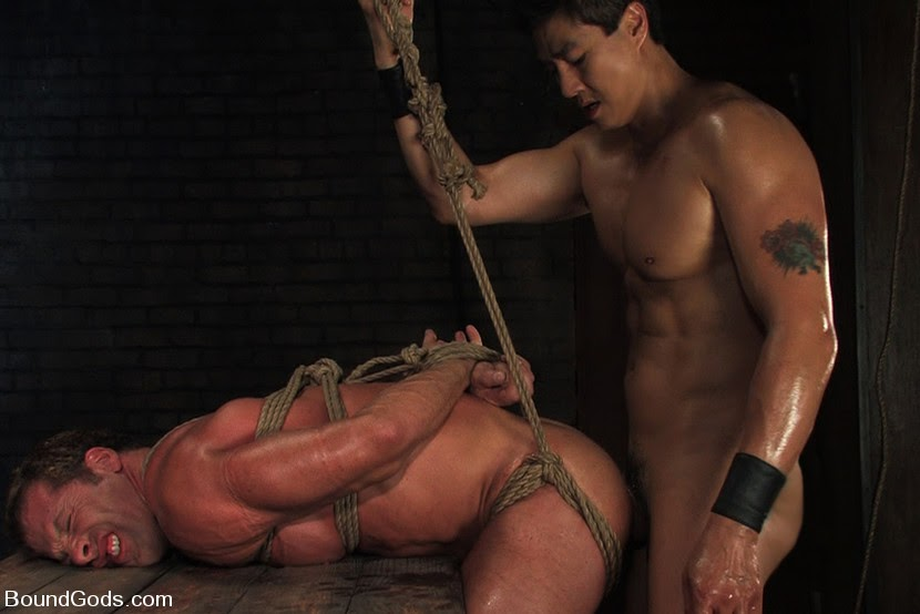 gay naked men in pain