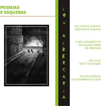 Meu livro de poesias: PESSOAS E ESQUINAS