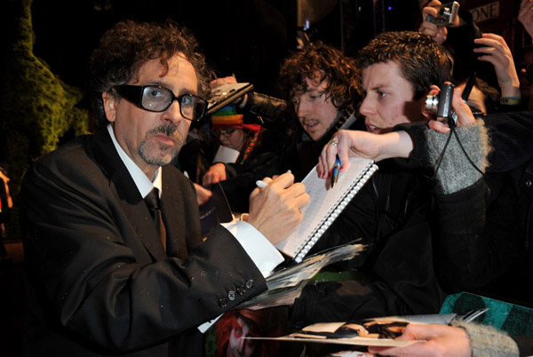 Tim Burton Alice in Wonderland Premiere
