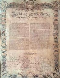 Acta de Independencia de la Provincia de Cartagena