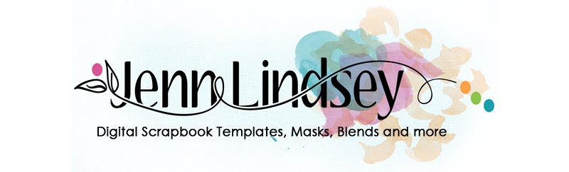 Jenn Lindsey Digital Scrapbook Templates and more