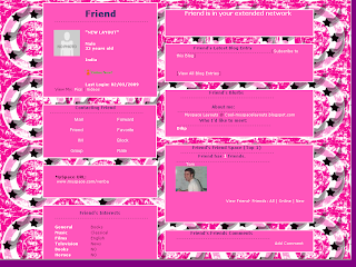 Pink Layouts