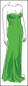 vestido+verde SAIBA COMO COMBINAR ROUPA COM SAPATO