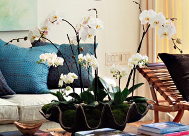 Decoraci n artico ideas y consejos con flores y plantas for Centros de mesa artificiales