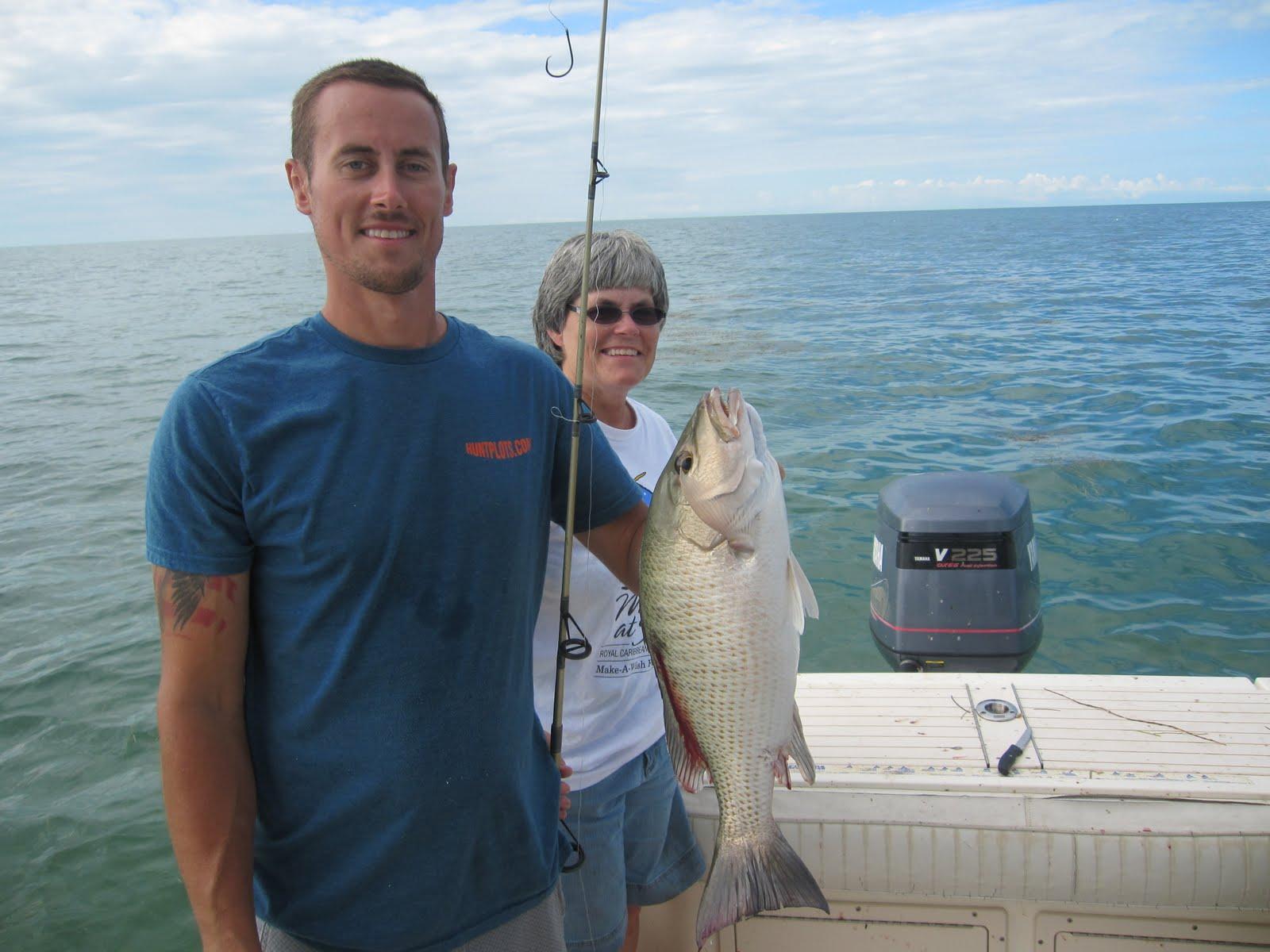 Herman brothers blog florida keys day 8 old ladies fishing for Florida free fishing days