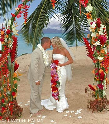 Wedding Decorations at the Beach