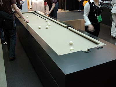 how long is a pool table 2