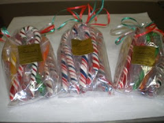 HANDMADE CANDY CANES