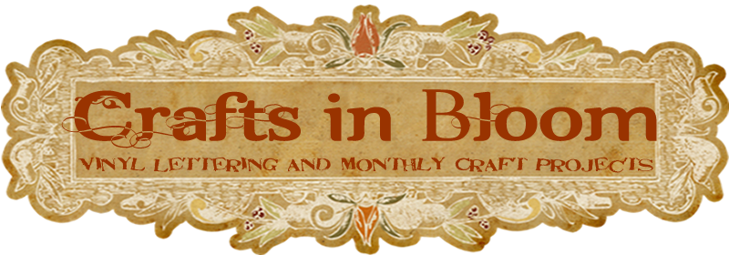 Crafts In Bloom