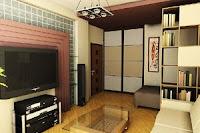 Фото - дизайн однокомнатной квартиры