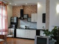Фото - Кухня в однокомнатной квартире