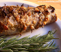 Valentine's Day Dinner: Garlic-Rosemary Pork Tenderloin