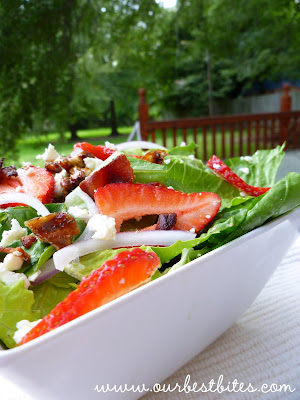 Quick Fix: Summer Salad with Strawberries and Feta - Our Best Bites