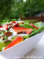 Quick Fix: Summer Salad with Strawberries and Feta