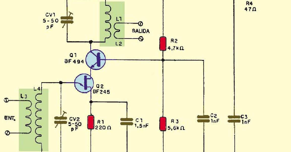 Ba da eletr nica amplificador de antena fm e tv - Amplificador de antena ...