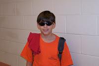 Student Wearing sunglasses