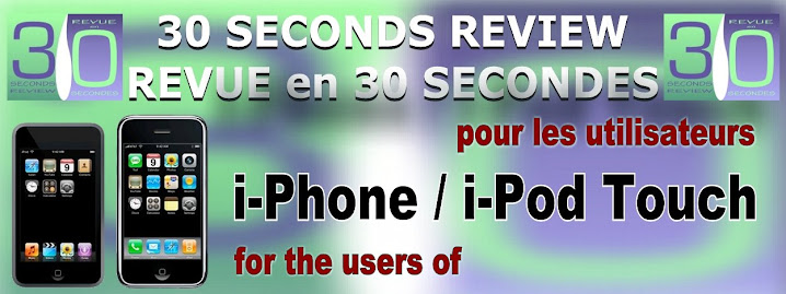 For-Pour: utilisateurs i-Phone / i-POD Touch users