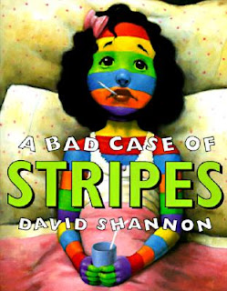 Children's Literature: A Bad Case of Stripes Review