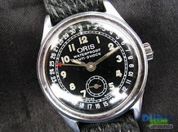 Oris Date Pointer winding