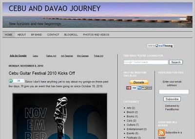 Best Cebu Blogs for 2010
