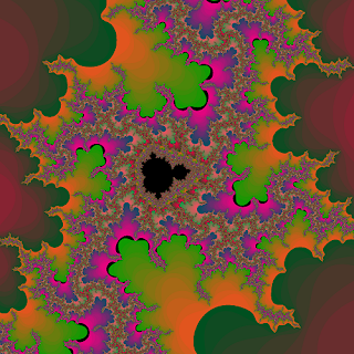 Calculated Fractal Image