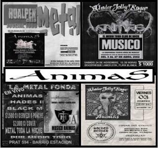 ANIMAS - Death Metal Melódico - Región del Bio - bío...videos,imagenes,biografía... EN+VIVO