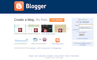 Blogger Login Picture Logo