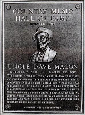 Uncle Dave Macon Volume 1