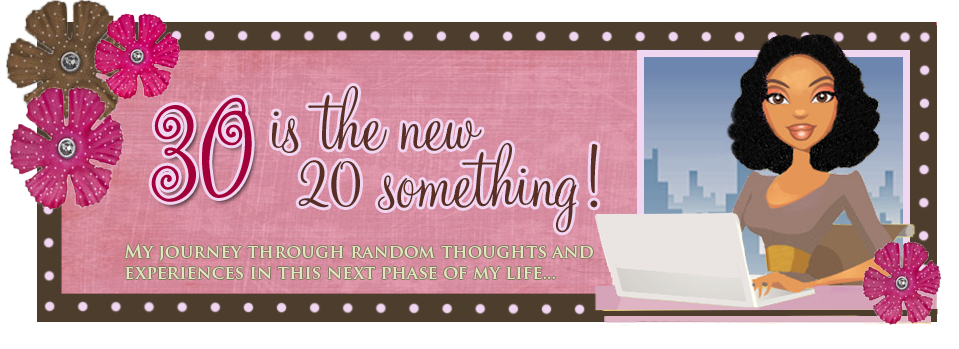 30 is the new 20 something