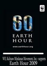 Kmindanao supports Earth Hour